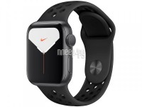 Фото APPLE Watch Nike Series 5 40mm Space Grey Aluminium with Anthracite-Black Nike Sport Band MX3T2RU/A
