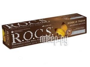 Зубная паста R.O.C.S. Кофе и Табак 74g 03-01-013