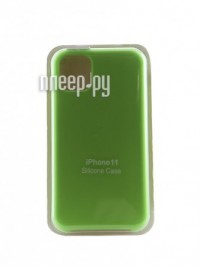 Фото Чехол Innovation для APPLE iPhone 11 Silicone Case Light Green 16458