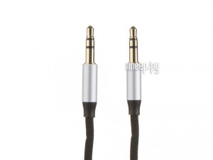 Фото Baseus Yiven Audio Cable M30 Jack 3.5mm - Jack 3.5mm 1.5m Silver-Black CAM30-CS1