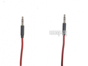 Фото Baseus Yiven Audio Cable M30 Jack 3.5mm - Jack 3.5mm 50cm Red-Black CAM30-A91