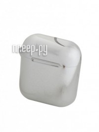 Фото Чехол Baseus Shining Hook Case for Airpods 1/2Generation Silver ARAPPOD-A0S