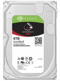 Фото Seagate IronWolf 8Tb ST8000VN004