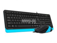 Фото A4Tech Fstyler F1010 Black-Blue