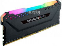 Фото Corsair Vengeance RGB Pro DDR4 DIMM 3200MHz PC4-25600 CL16 - 16Gb CM4X16GC3200C16W4