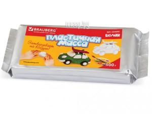 Паста для моделирования и лепки Brauberg 500g White 224443