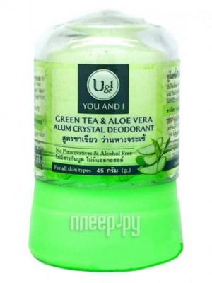 Дезодорант Narda кристалл 45г с Зеленым Чаем и Алоэ Вера 7863