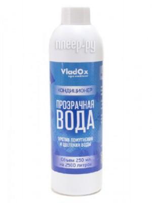 Средство Vladox Прозрачная вода 83181 - Средство для очищения аквариумной воды на основе коагулянтов 250мл на 2500л