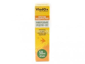 Средство Vladox Против водорослей SDX50 - Средство для уничтожения водорослей в аквариуме 50мл на 10л