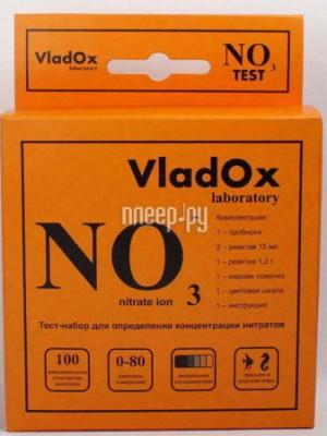 Средство Vladox NO3 тест 982337 - профессиональный набор для измерения концентрации нитратов