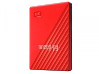 Фото Western Digital My Passport 2Tb Red WDBYVG0020BRD-WESN