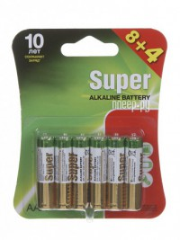 Фото AAA - GP Super Alkaline LR03 24A 24A8/4-2CR12 (12 штук)