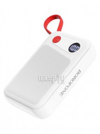 Фото Borofone Power Bank BT24 Quick for Micro USB 10000mAh White