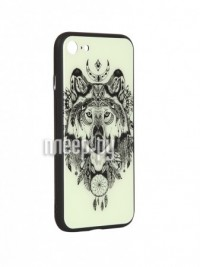 Фото Чехол Flexis для APPLE iPhone 7/8 Волк FX-CASE-GiDGC-iP7-WOLF
