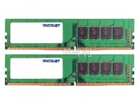 Фото Patriot Memory DDR4 DIMM 2666MHz PC-21300 CL19 - 16Gb KIT (2x8Gb) PSD416G2666K