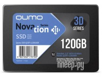 Фото Qumo Novation TLC 3D SSD 120Gb Q3DT-120GAEN