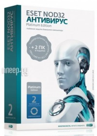 Фото Eset NOD32 Антивирус Platinum Edition 1Dt 2year NOD32-ENA-NS-BOX-2-1