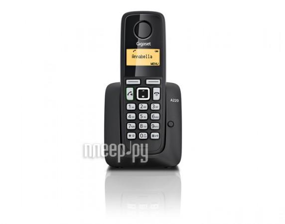 Телефон Gigaset A220HSB (доп. трубка) уцененный[Перейти в каталог этих товаров]