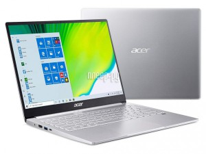 Фото Acer Swift SF313-52-76NZ Silver NX.HQXER.003 (Intel Core i7-1065G7 1.3 GHz/16384Mb/512Gb SSD/Intel Iris Plus Graphics/Wi-Fi/Bluetooth/Cam/13.5/2256x1504/Windows 10 Pro 64-bit)