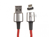 Фото Baseus Zinc Magnetic Cable USB - Lightning 1.5A 2m Red CALXC-B09
