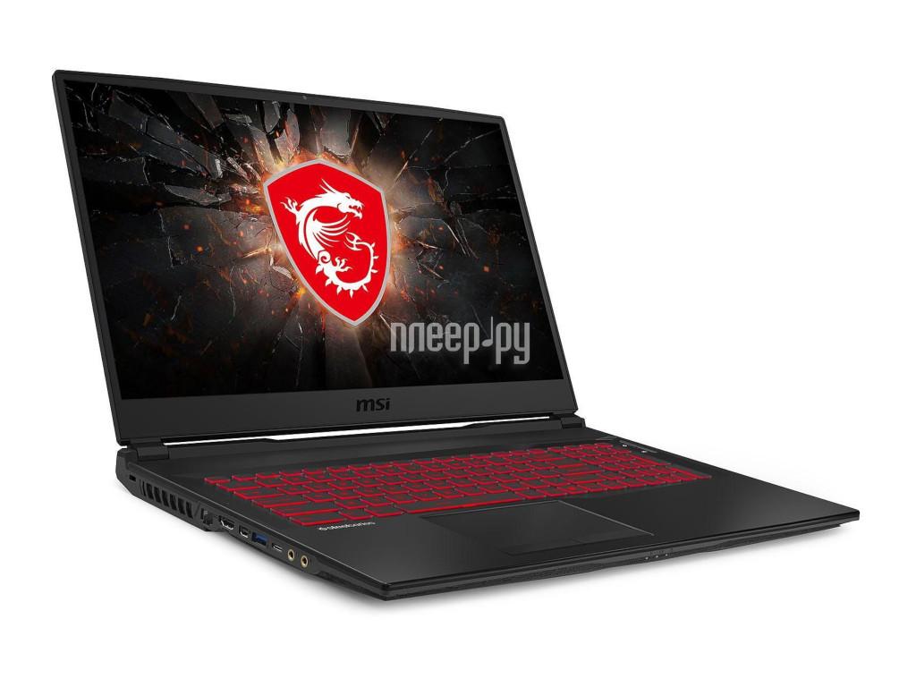 Ноутбук MSI GL75 Leopard 10SCSR-009RU Black 9S7-17E822-009 (Intel Core i5-10300H 2.5 GHz/8192Mb/512Gb SSD/nVidia GeForce GTX 1650Ti 4096Mb/Wi-Fi/Bluetooth/Cam/17.3/1920x1080/Windows 10 Home 64-bit)