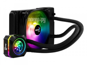 Фото AeroCool Pulse L120F RGB Black 4718009157668 (Intel LGA 2066/2011-V3/115X/1366/775 AMD FM1/FM2/AM4/AM3+/AM3)