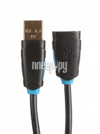 Фото Vention USB 2.0 AM/AF 2m Black CBCBH