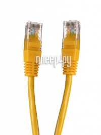 Фото Gembird Cablexpert UTP cat.5e 5m Yellow PP12-5M/Y
