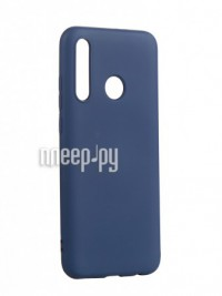 Фото Чехол Neypo для Honor 10i Silicone Case 2.0mm Dark Blue NSC16040