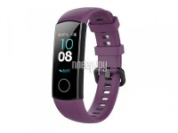 Фото Ремешок DF для Honor Band 4/5 Silicone Purple hwClassicband-02