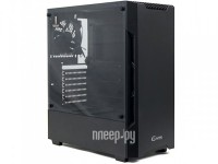 Фото Powercase Alisio X3 ATX Tempered Glass Black CAXB-F3