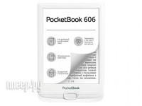 Фото PocketBook 606 White PB606-D-RU