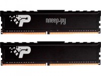 Фото Patriot Memory SL Premium DDR4 DIMM 2666Mhz PC21300 CL19 - 16Gb KIT (2x8Gb) PSP416G2666KH1