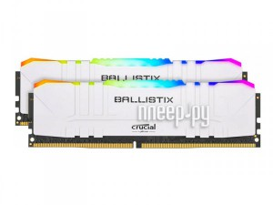 Фото Ballistix DDR4 DIMM 3000MHz PC4-24000 CL15 - 16Gb Kit (2x8Gb) BL2K8G30C15U4WL