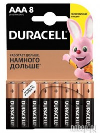 Фото AAA - Duracell LR03 8BL Ultra Power (8 штук) DR LR03/8BL UL PW
