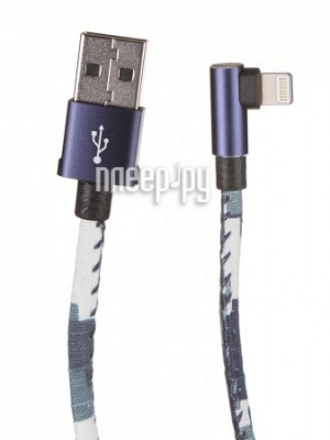 Фото Baseus Camouflage Mobile Game Cable USB-Lightning 1.5A 2m Blue CALMC-B03