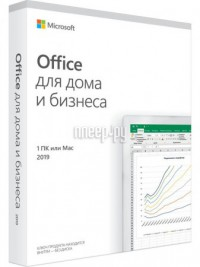 Фото Microsoft Office Home and Business 2019 Rus Only Medialess P6 T5D-03361