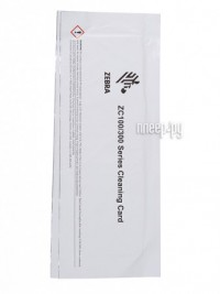 Фото Чистящий комплект Zebra Cleaning Card Kit 105999-310