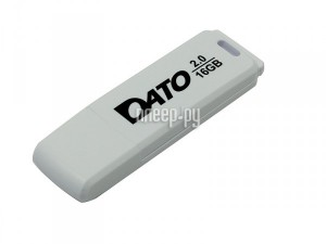 Фото 16Gb - Dato DB8001 USB 2.0 White DB8001W-16G