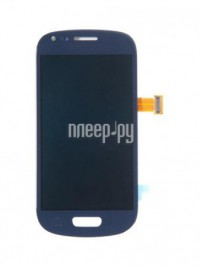 Фото RocknParts для Samsung Galaxy S3 Mini GT-I8190 Amoled в сборе с тачскрином Pebble Blue 355987