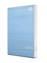 Фото Seagate One Touch Portable Drive 2Tb Light Blue STKB2000402