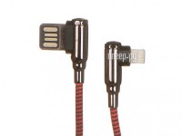 Фото Ldnio LS421 USB - Lightning 2.4A 1m Red LD_B4624