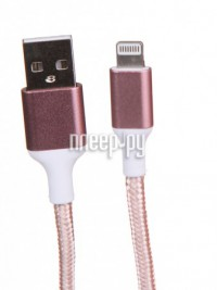 Фото Greenconnect Lightning 1m Pink Nylon GCR-51635