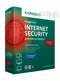 Фото Kaspersky Internet Security Rus 2-Device 1 year Base Box KL1939RBBFS
