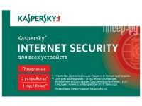 Фото Kaspersky Internet Security Rus 2-Device 1 year Renewal Card KL1939ROBFR