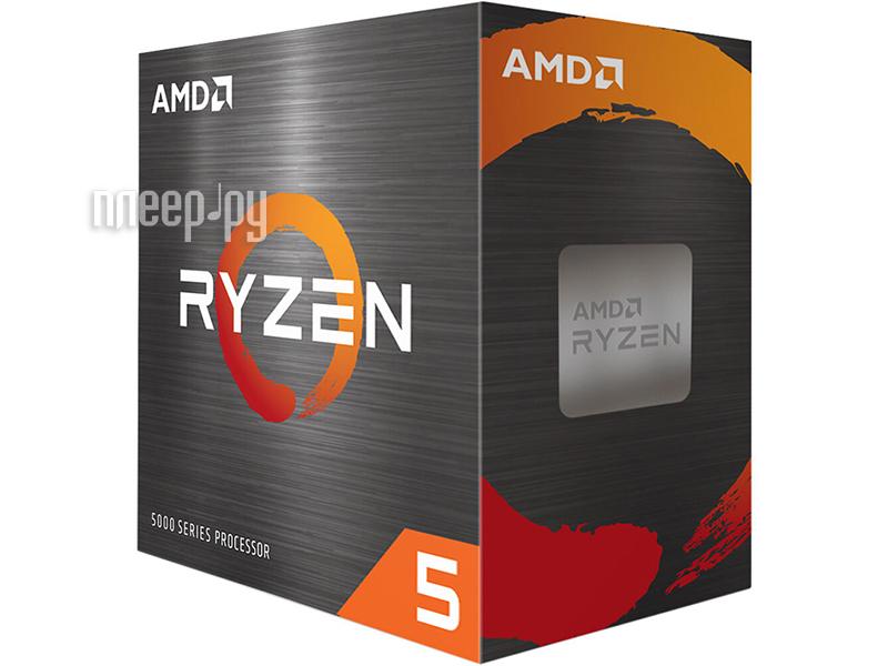 Купить AMD Ryzen 5 5600X (3700MHz/AM4/L2+L3 32768Kb) 100-100000065BOX по низкой цене в Москве - Интернет магазин Плеер.ру