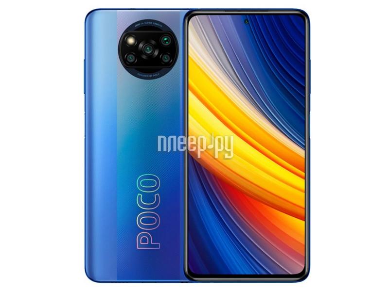 Купить Poco X3 Pro 6/128Gb Blue по низкой цене в Москве - Интернет магазин Плеер.ру