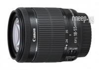 Объектив Canon EF-S 18-55 mm F/3.5-5.6 IS STM KIT Black