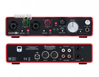 Аудиоинтерфейс Focusrite Scarlett 2i4 2nd Gen