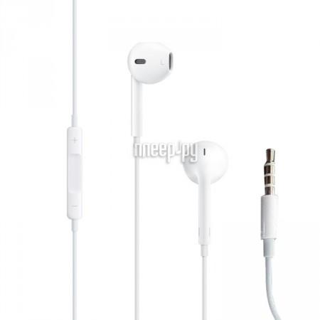 Купить APPLE EarPods White MD827ZM A B   MNHF2ZM A по низкой цене в ... 680043ccfd5d8